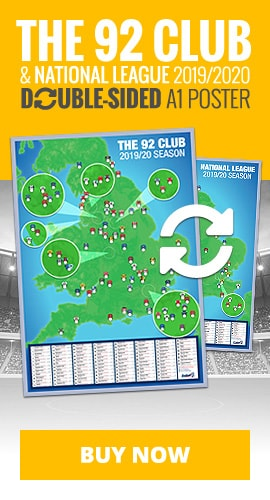 Buy the 92 Club wall poster